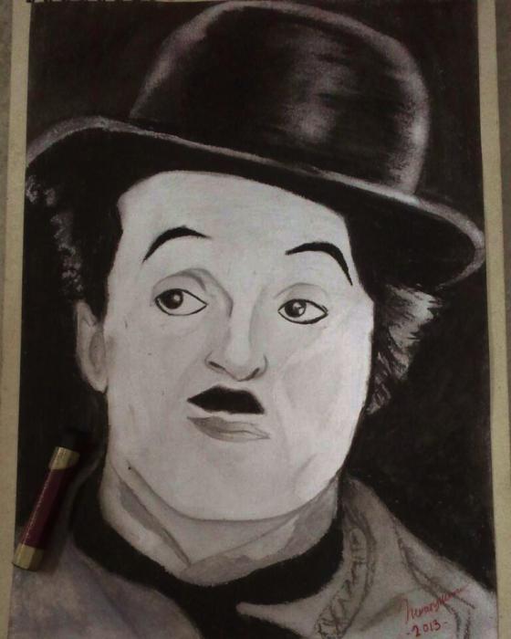 Charlie Chaplin by asyikin